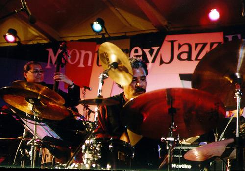 Dr. Anthony Brown, drummer and Mark Izu, bassist - Monterey, CA  (c. 2011)