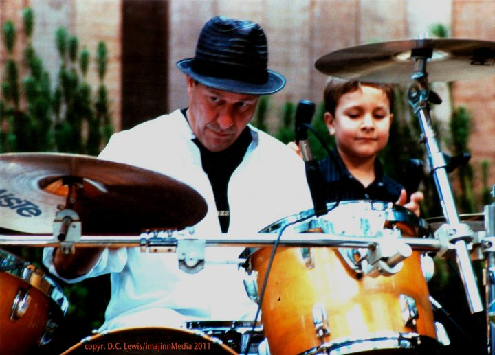 Greg Errico and son, drummer Sly and the Family Stone - San Francisco, CA  (c. 2012)