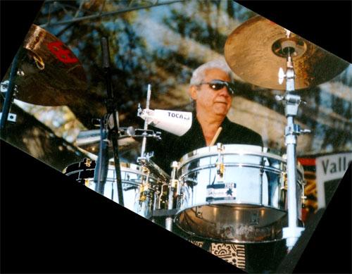 Pete Escovedo, percussionist - CA  (c. 2010)
