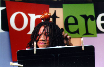 Unknown female bassist - Monterey, CA  (c. 2011)