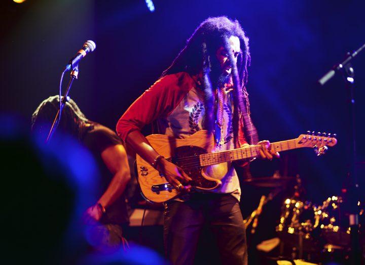 Ras Josh David, lead vocalist/guitarist Wailers - San Francisco, CA  (c. 2016)
