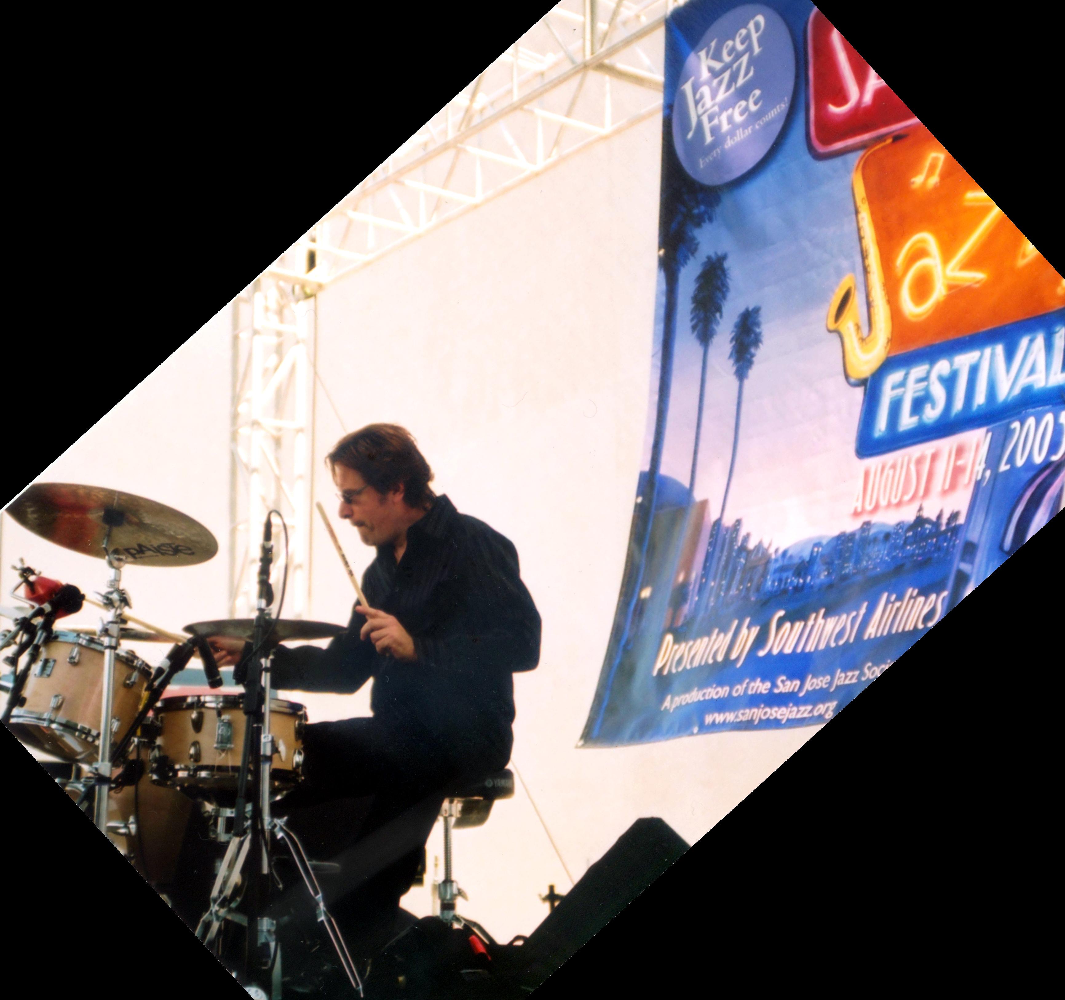 Paul van Wageningen, drummer - San Jose, CA