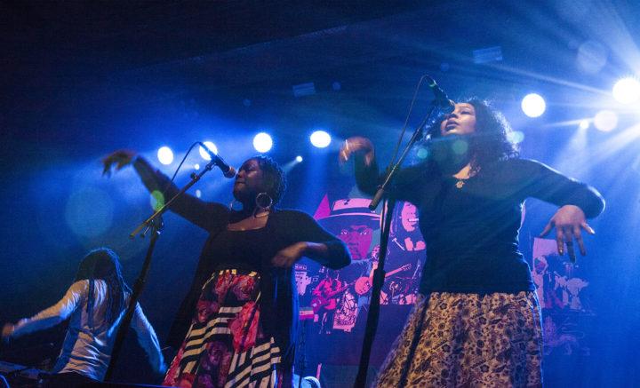Background vocalists, Wailers 2017