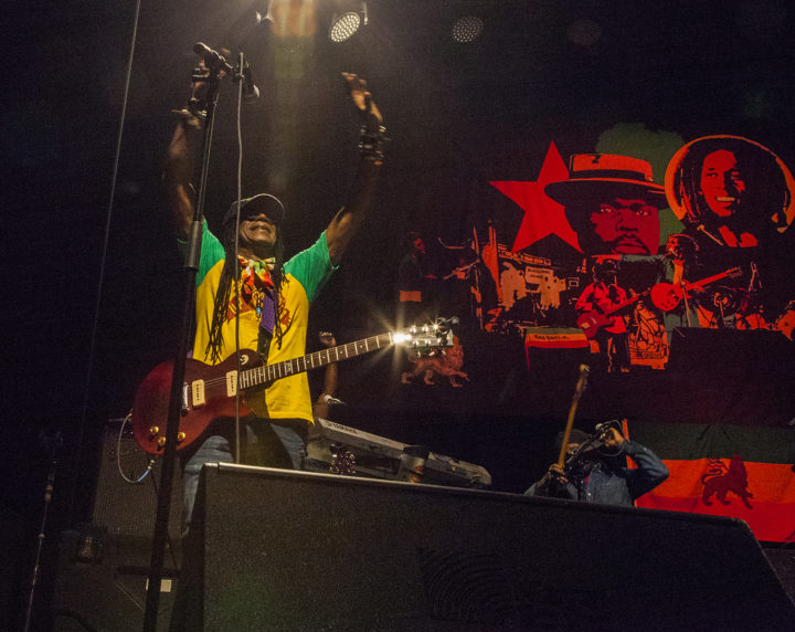 Junior Marvin, guitarist Wailers Tour 2017