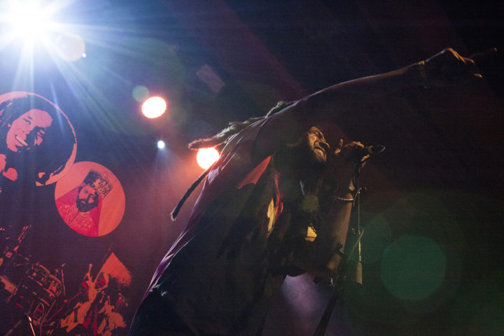 Ras Josh David, vocalist/guitarist Wailers 2017